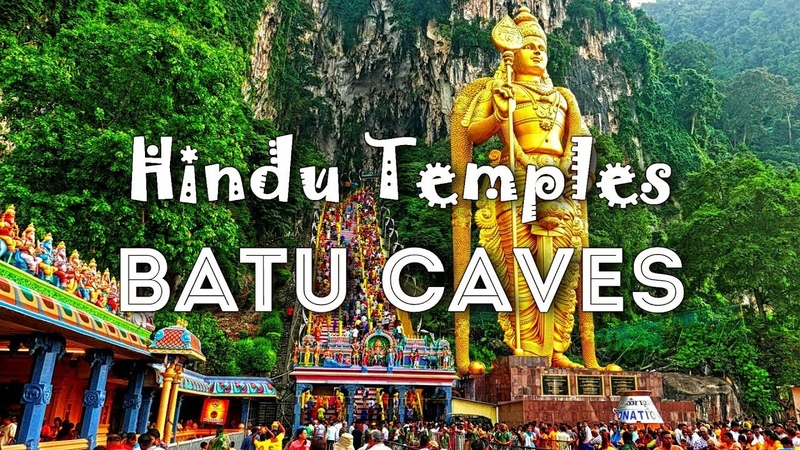 Hindu Temples of Kuala Lumpur - BATU CAVES Sri Mahamariamman