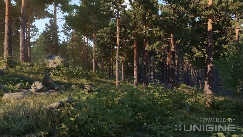 UNIGINE 2.8 Vegetation Improvement