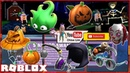 Roblox Sinister Swamp Gameplay! Getting 9 more Hallows Eve Event Items! Loud Warning!