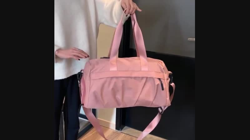 Фитнес-сумка Nylon Yoga Training Shoulder Crossbody Спортивная сумка для женщин Фитнес-путешествия Duffel Gymtas Tas Sacs De Spo