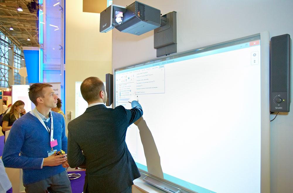 Мультимедийная интерактивная доска с проектором