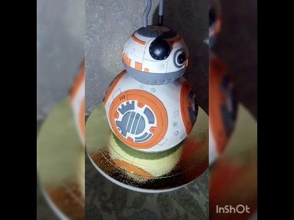 BB-8 RC Robot Ball Remote Control Planet Star Wars Cake