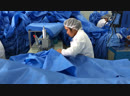 Manufacturing ultrasonic surgical gown