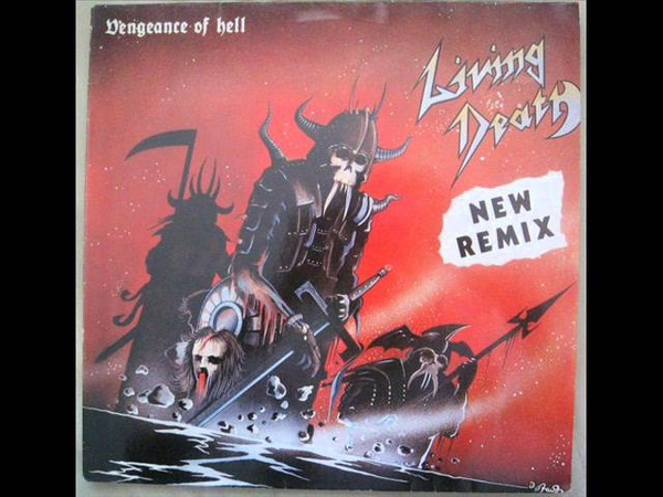 Living Death - Riding A Virgin (Vinyl - New Remix - 1985)