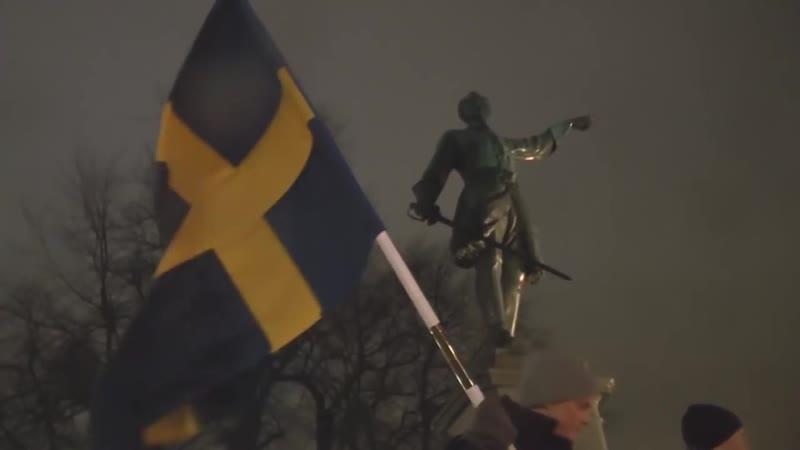 Nordisk Ungdom hyllar XII 300 år efter hjältekonungens död - 2018-11-30