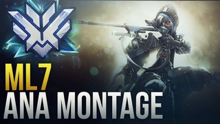 ML7 - RANK 1 WORLD ANA GOD - Overwatch Montage
