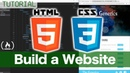 HTML and CSS Tutorial - Create a Website for Beginners