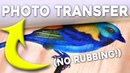 EASY Photo Transfer to Wood - Fast, Clean, REUSABLE, Cheap Print on Wood Using Mailing Labels