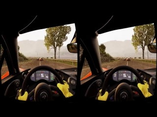 Virtual Reality. Project Cars 3D VR SBS