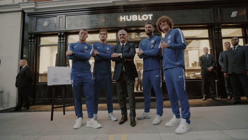 Hublot Opening Boutique In London Music by V Sine Beatz