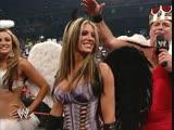 DIVAS HALLOWEEN COSTUME CONTEST: Jerry Lawler & Trish & Ashley & Candice & Victoria & Maria