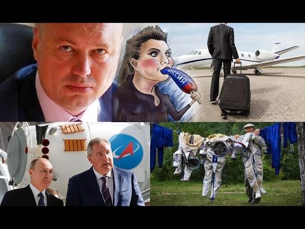 Очевидное в РФ воруют. Невероятное трусы и унитаз на голове у журналистки.