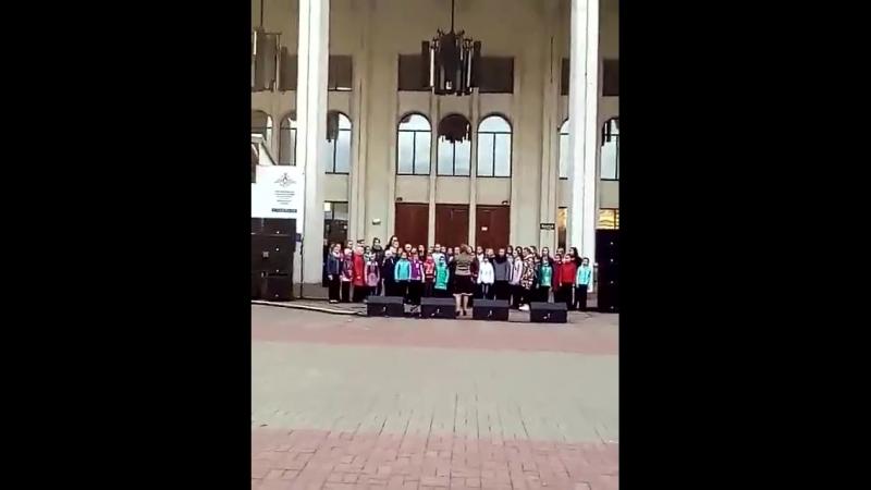 Детство День города 2018. Сводный хор ДШИ2 рук.Алферова В.Г.