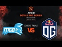Newbee.MGB vs OG Game 3 - AMD Dota 2 Pro League: Losers' Finals w/ MLP, Basskip