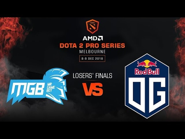 Newbee.MGB vs OG Game 3 - AMD Dota 2 Pro League: Losers' Finals w/ MLP, Basskip