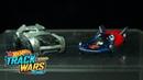 Специальный выпуск Бэтмен против Супермена Track Wars Hot Wheels