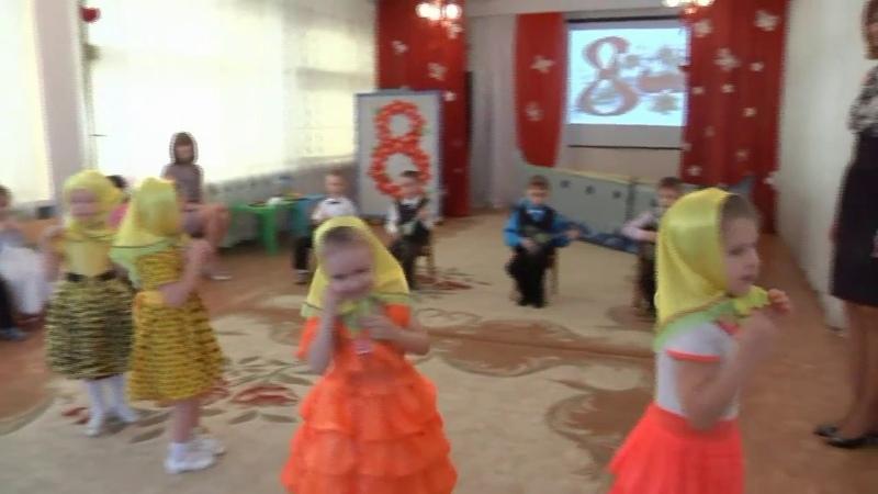 Музыканты и матрёшки танец средняя группа