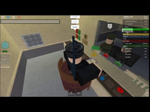 Roblox PAPERS, PLEASE! Simulator as Admissions!