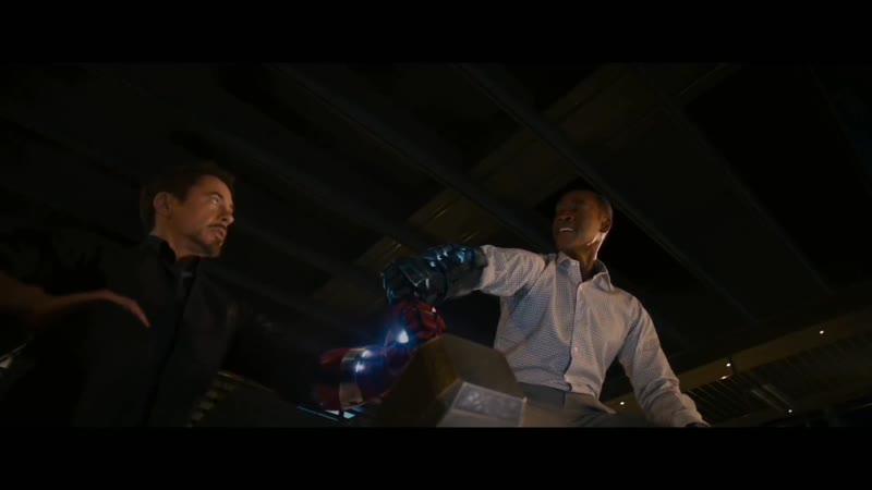 Fragments_ ☆Мстители_ Эра Альтрона☆ — Мстители пробуют поднять молот Тора