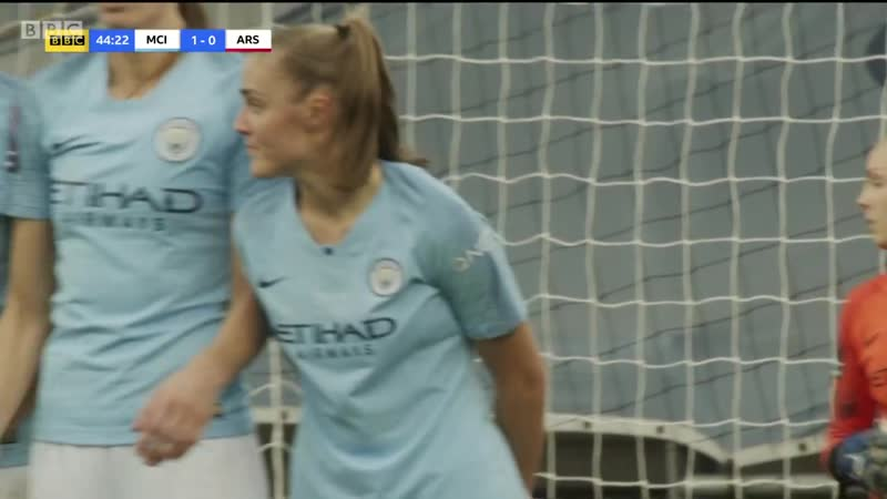 Womens Super League 2018 19 Manchester City v Arsenal