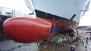 Symphony Of The Seas in dry dock - The liner