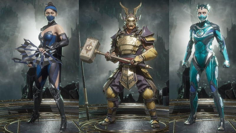 Mortal Kombat 11 All Character Costumes / Outfits / Skins - Showcase