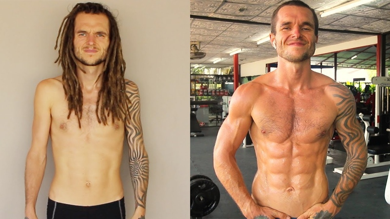 My 1 Year Body Transformation (Calisthenics) From Skinny To Ripped