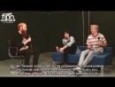2018   Интервью Calpurnia (Финна Вулфарда и Джека Андерсона) для радиостанции «CFNY-FM» (102.1 Edge)   русские субтитры