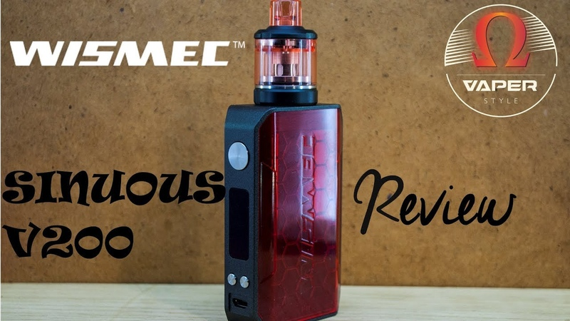 Wismec SINUOUS V200 with Amor NSE