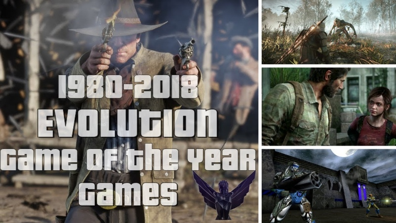 Evolution/History of Game of the Year Winner Games 1980-2018
