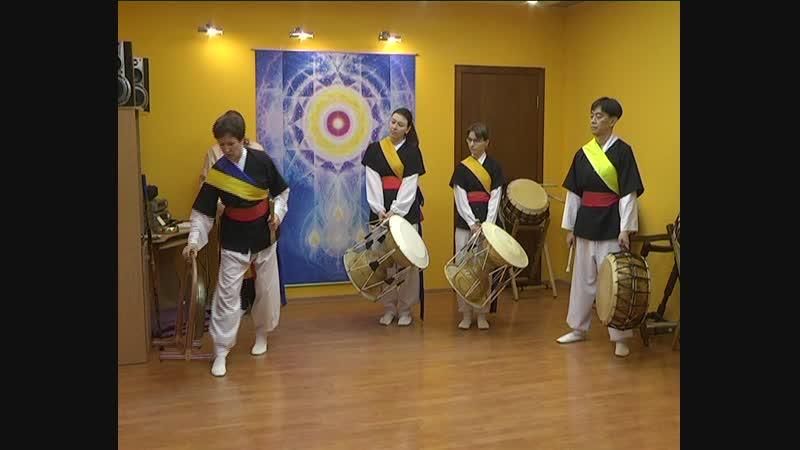 корейскиебарабанысамульнори