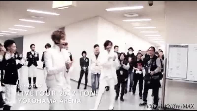 7년 전 오늘의 동방신기 TONE 투어 시작 - 요코하마 아레나 1일차 120118