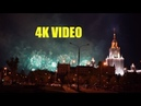 САЛЮТ У ЗДАНИЯ МГУ 4K VIDEO Sony A7III TEST Night video SONY ILSE 7M3 celebration salute in Moscow