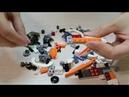 Собираем конструктор Lego Creator Дрон-разведчик для детей, часть 2