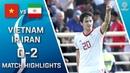 🇻🇳 VIETNAM - IR IRAN 🇮🇷 - 0:2 | MATCH HIGHLIGHTS | MATCH-19 | 12.01.2019 AsianCup2019