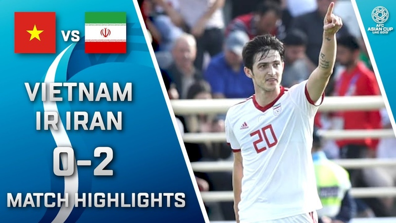 🇻🇳 VIETNAM - IR IRAN 🇮🇷 - 0:2 | MATCH HIGHLIGHTS | MATCH-19 | 12.01.2019 AsianCup2019