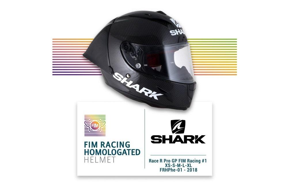 Shark Race R Pro GP - первый шлем, получивший сертификацию FIM Racing
