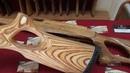 Индивидуальный приклад на заказ для Трехлинейки КО 91 30 натуральный березовый шпон