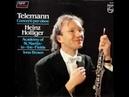 Telemann / Heinz Holliger, 1982: Oboe Concerto in F minor - Complete