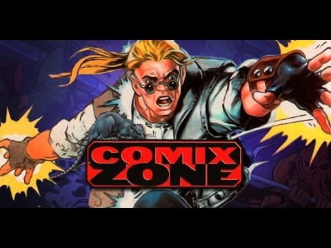 Comix Zone - Boss Theme - Woe is the World - Track 7 (TAB MIDI)