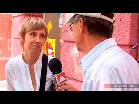 Татьяна Иванова в программе П'ять хвилин сентябрь 2011