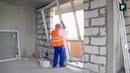 Монтаж крупноформатной оконной конструкции в стену из газобетона FORUMHOUSE FORUMHOUSE