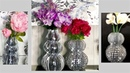 Diy Bling Vases using Paper Towel Holders! Simple and Inexpensive Home Decor Items.