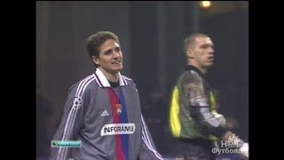 Спартак Москва 1-1 Лион. 2-й групповой этап ЛЧ УЕФА 2000/2001. Обзор матча