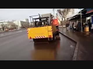 Мэр показал как будут убирать дороги