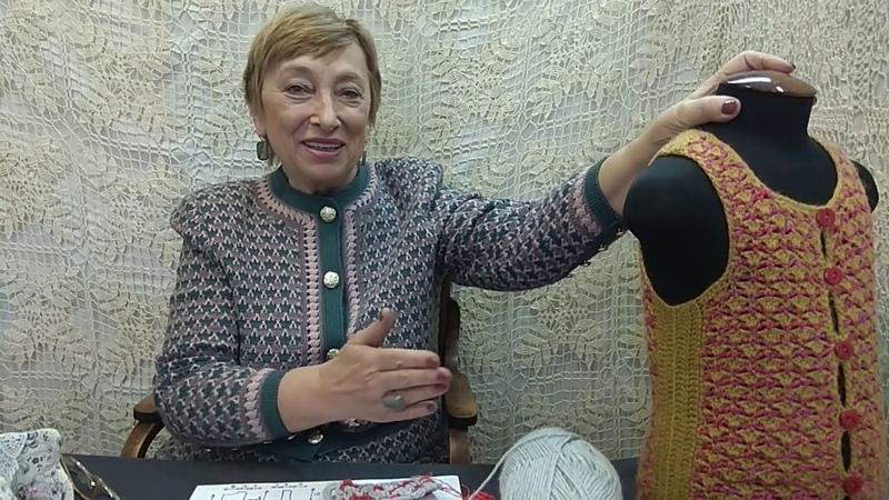 Вязание крючком для детей от О.С. Литвиной. Кофточка Мармеладка. Схема узора и выкройка.