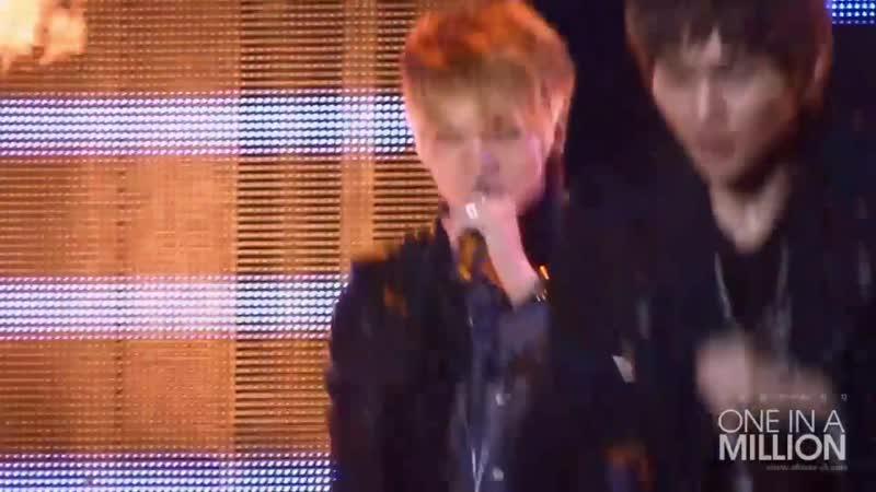 [HD Jonghyun Fancam] 091027 SHINee Ring Ding Dong