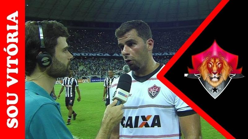 André Lima diz que Vitória não entendeu o espírito do jogo contra o Ceará