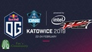 OG vs FTD - Game 1 - ESL One Katowice 2019 - Group Stage.