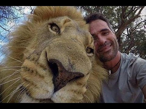 Unbelievable Friendship! People and Wild Animals - Compilation 2018